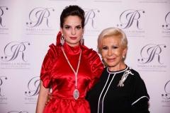 Anna Fendi con Alessandra