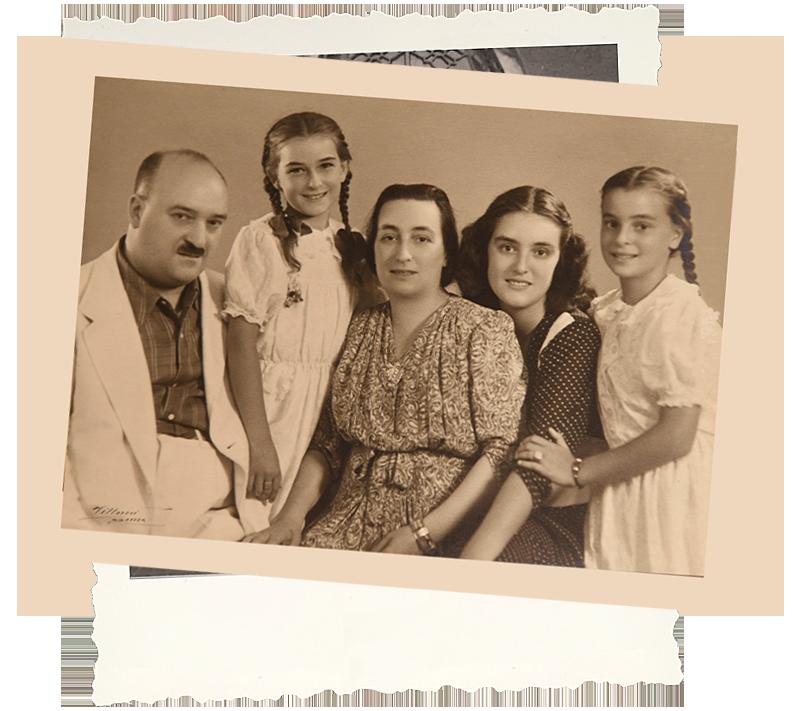 La famiglia Rossini